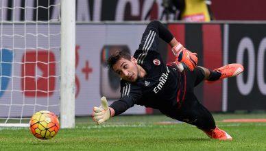 AC Milan v US Sassuolo Calcio Donnarumma