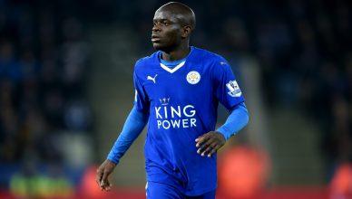 Leicester City's N'golo Kante