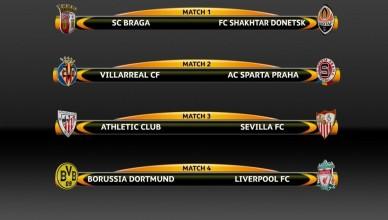 liga europejska ćwierćfinały