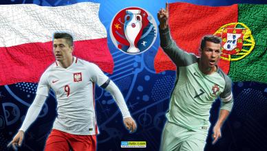 Polska - Portugalia - grafika