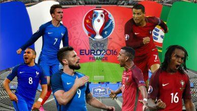 Francja - Portugalia - foto główne (finał EURO 2016)