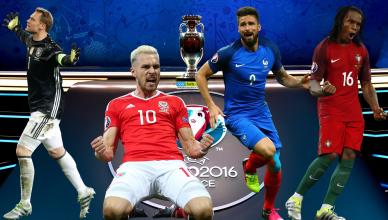Najlepsza 11 ćwierćfinałów EURO 2016 - foto główne