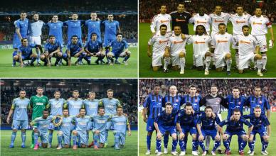 Najdziewniejsze kluby w fazie grupowej LM (Kopiowanie)