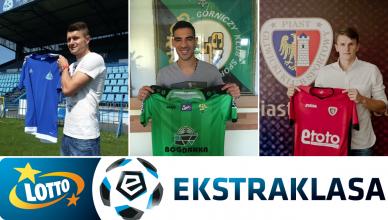 Najgorszde transfery lipca w Ekstraklasie - foto główne