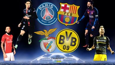 Round of 16 UEFA Champions League 14 lutego 2017 - foto główne