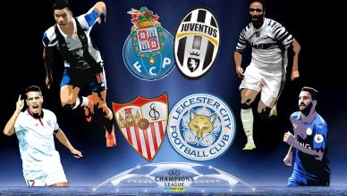 Round of 16 UEFA Champions League 22 lutego 2017 - foto główne