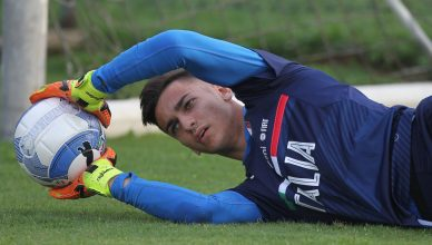 Italy U21 Training Session - Alex Meret