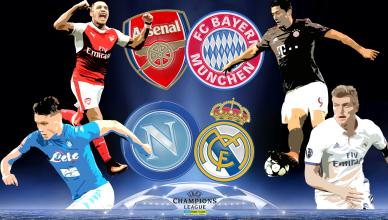 Round of 16 UEFA Champions League 7 marca 2017 - foto główne