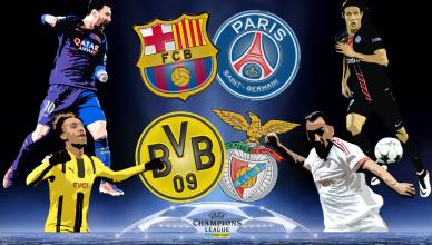 Round of 16 UEFA Champions League 8 marca 2017 - foto główne