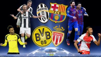Round of 8 UEFA Champions League 11 kwietnia 2017 - foto główne
