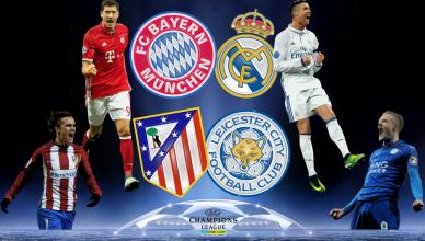 Round of 8 UEFA Champions League 12 kwietnia 2017 - foto główne