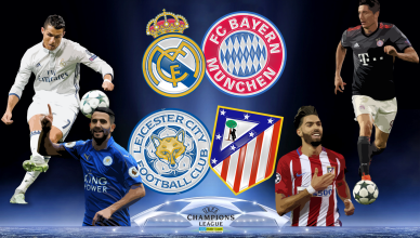 Round of 8 UEFA Champions League 18 kwietnia 2017 - foto główne