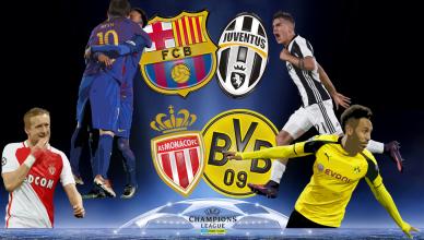 Round of 8 UEFA Champions League 19 kwietnia 2017 - foto główne
