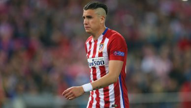 Club Atletico de Madrid v FC Bayern Muenchen - UEFA Champions League Semi Final: First Leg - Jose Gimenez