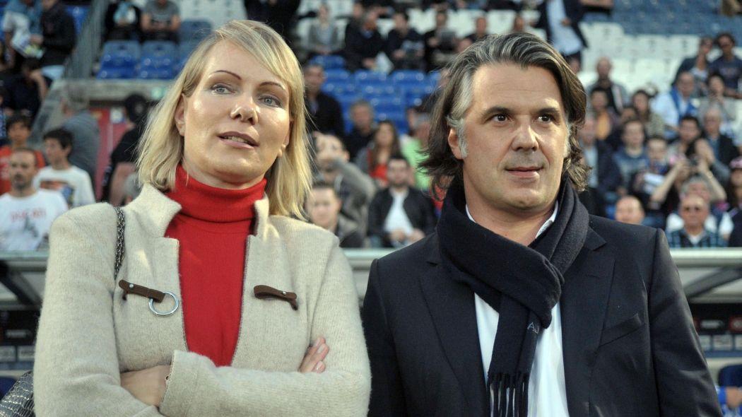 Margarita Louis-Dreyfus i Vincent Labrune; Źródłó: Eurosport