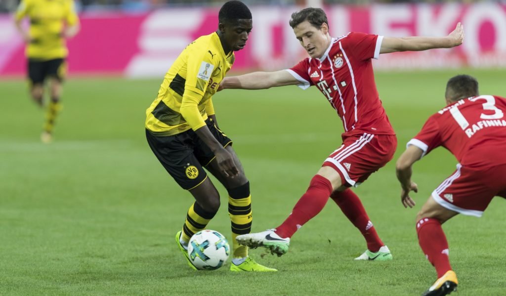 Germany Supercup - Dembele i Rudy