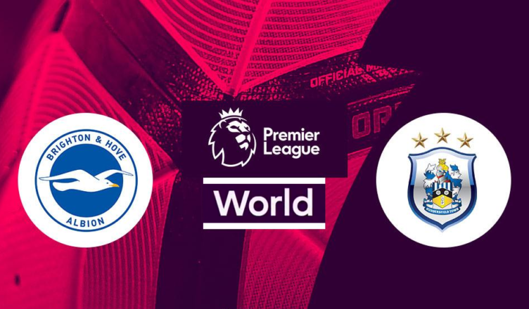 Brighton i Huddersfield w Premier League - grafika