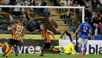 Hull City's Kamil Grosicki scores the 4th goal