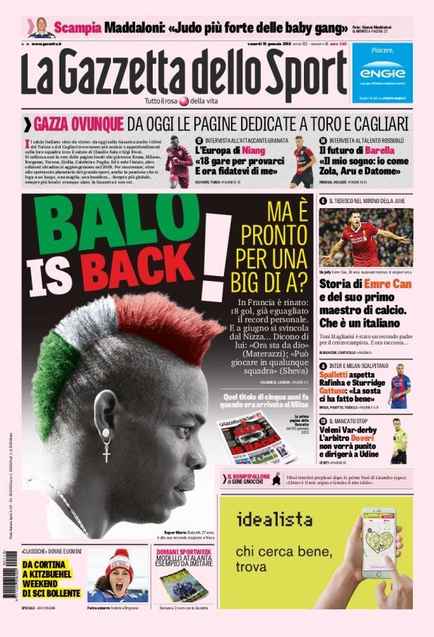 Źródło: La Gazzetta dello Sport