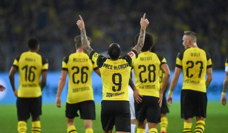 Dortmund – nowe porządki. Favre i Alcácer wprowadzają Borussię na szczyt