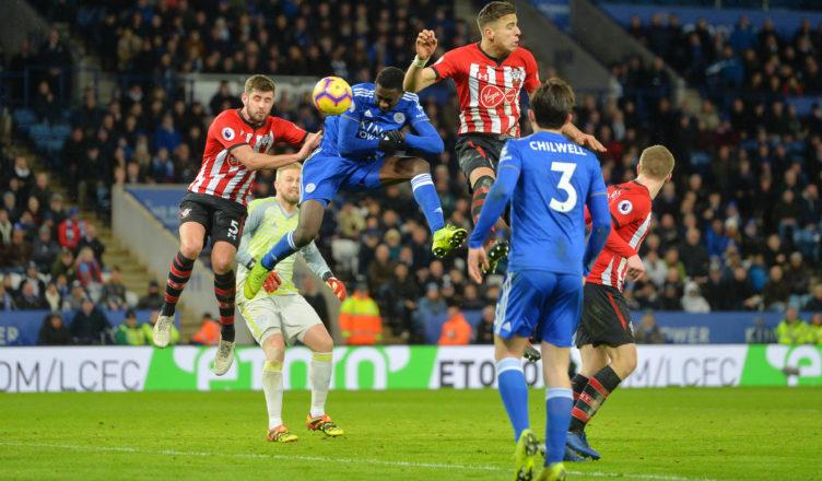 Jan Bednarek Leicester vs Southamtpon