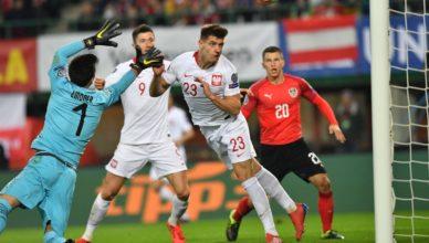 Austria vs Polska EURO 2020 Qualifiers Krzyztof Piatek