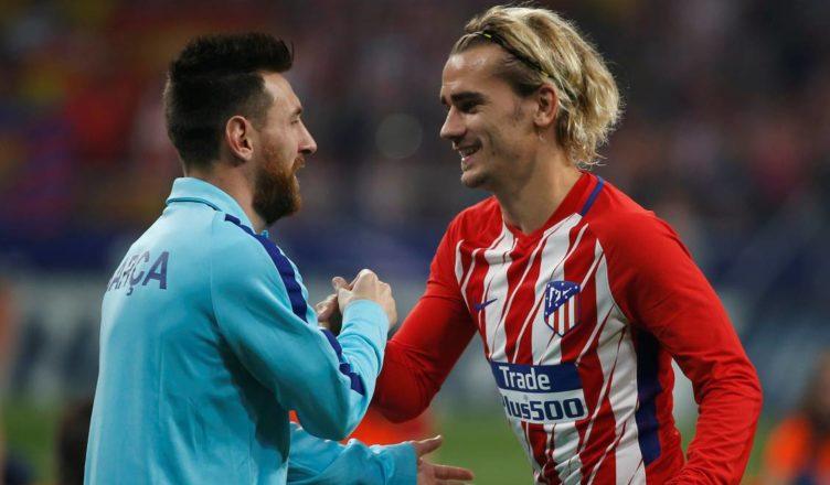 Messi Griezmann Barcelona
