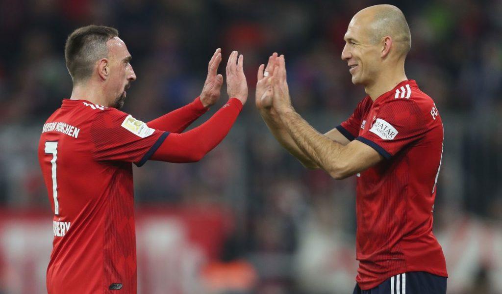 Ribery Robben Bayern