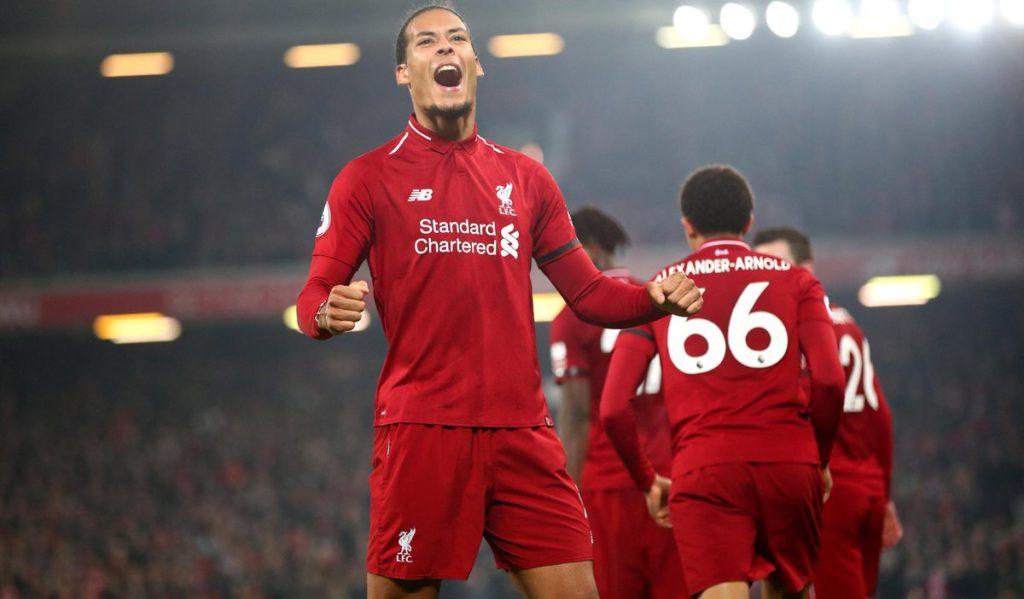 Virgil van Dijk Liverpool Watford