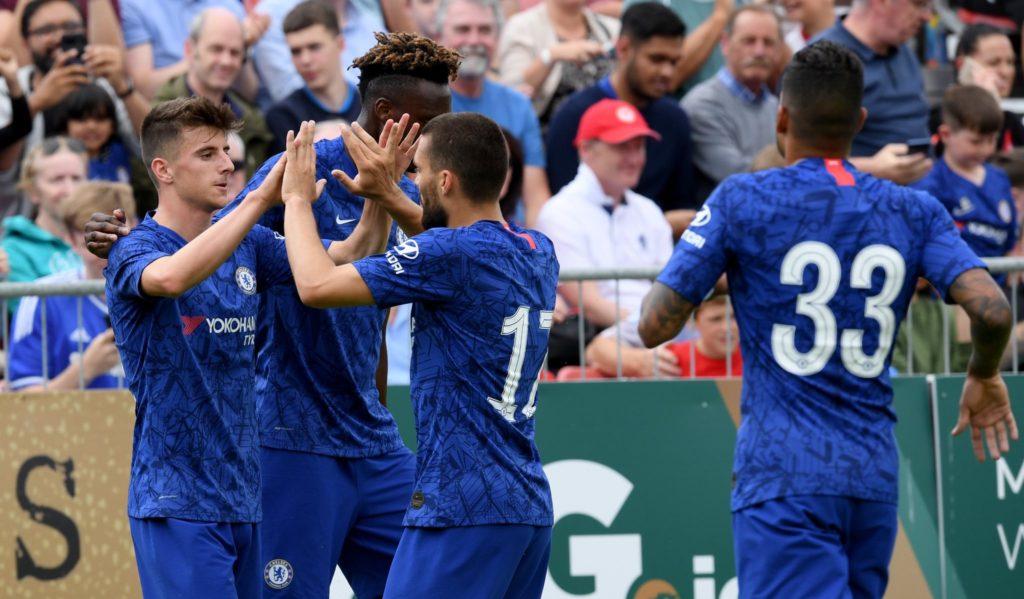Chelsea pre season game 2019-20