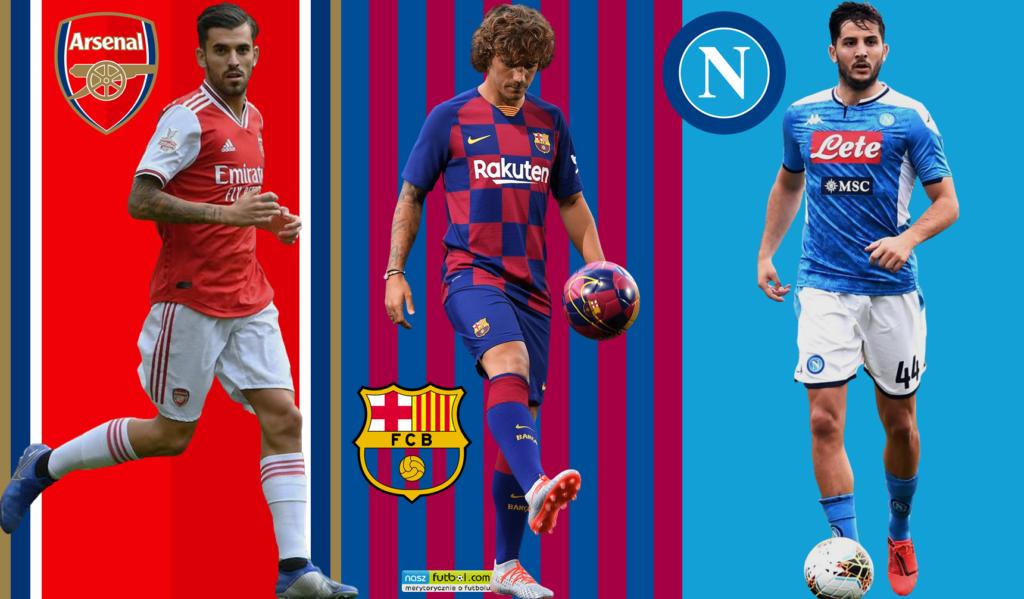 Hitowe transfery lipca 2019 - grafika główna