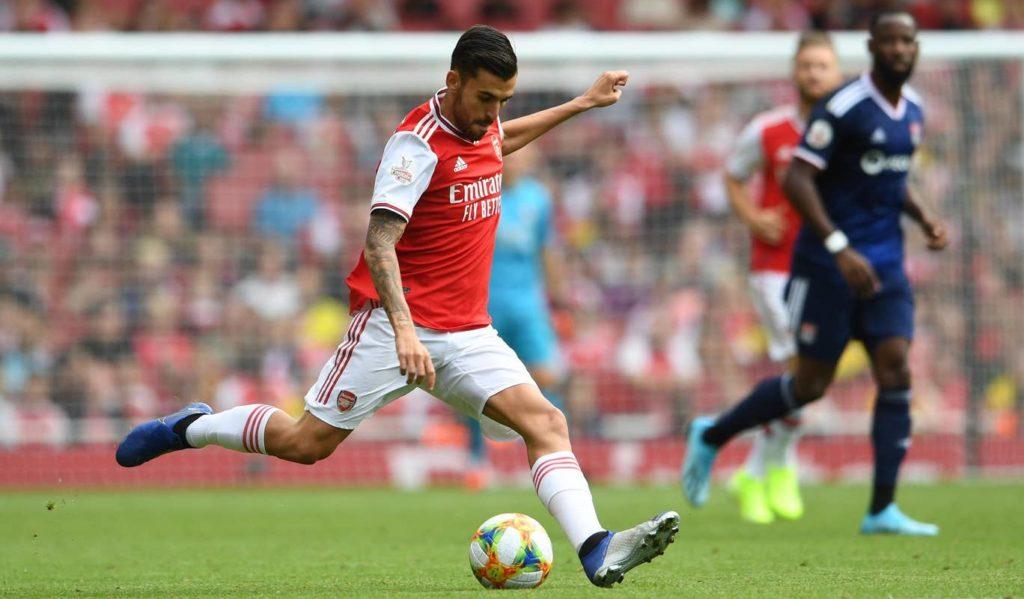 Ceballos Arsenal debut