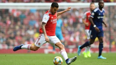 Ceballos Arsenal debut