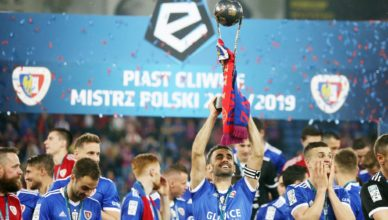 Gerard Badia Piast Gliwice Mistrz Polski 2018-19