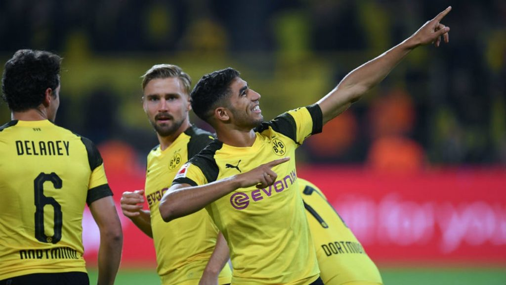 Borussia-dortmunds-Achraf-Hakimi