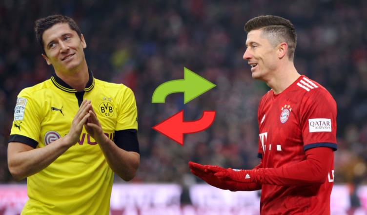 Lewandowski i inne najlepsze darmowe transfery - grafika HD